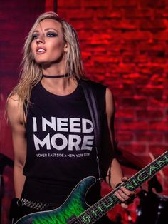 """""""Let the beauty of what you love be what you do. Photo by the incredible - always a pleasure when our paths… Rocker Girl, Rocker Chick, Thalia, Witcher Wallpaper, Nita Strauss, Heavy Metal Girl, Greatest Rock Bands, Guitar Girl, Women In Music"""