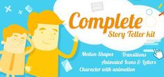 Explainer video story teller kit with cartoony characters. Check it out: http://videohive.net/item/cartoony-characters-story-toolkit/14923909