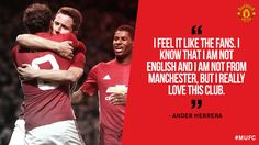 MANCHESTER UNITED SPORT NEWS: HERRERA FEELS PASSION LIKE THE UNITED FANS