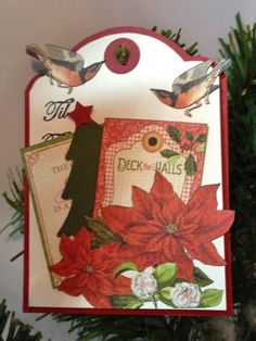 Graphic 45 Time To Flourish to - from label tag by Anne Rostad
