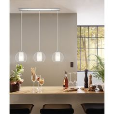 Payton 3-Light Kitchen Island Pendant