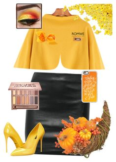"""Fall"" by saint-germain on Polyvore featuring The Row, Casetify, Dolce&Gabbana and Urban Decay"
