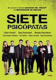 Marty (Colin Farrell), un escritor que no llega a fin de mes, sueña con terminar su guión, Siete Psicópatas. Billy (Sam Rockwell) es el mejor amigo de Marty, un actor sin empleo y ladrón de perros a tiempo parcial, que quiere ayudar a Marty por cualquier medio. Hans (Christopher Walken) es el socio de Billy.