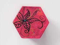Gift box for women, Jewelry storage, bridesmsid box, birthday gift ideas, wedding keepsake box, Small memory box, Unique handmade her. by handmadebystrawb on Etsy