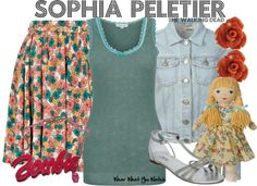 Inspired by character Sophia Peletier from The Walking Dead played by Madison Lintz.