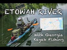 Etowah River Kayak Fishing with GKF 2018