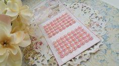 Cartela de strass adesivo diamante rosa