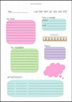Adesivi Free Printable Calendar, Printable Planner, Planner Stickers, Printables, Agenda Planning, Agenda Organization, Small Journal, Filofax, Happy Planner