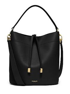 Michael Kors Collection Miranda Shoulder Bag - Black - Size No Size