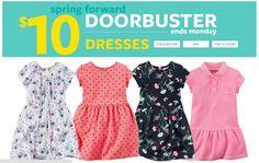 #Dress #Kids #Off Para las princesas de casa siempre lo mejor. www.carters.com