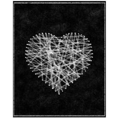 Ptm Images Heart Canvas Wall Art ($140) ❤ liked on Polyvore featuring home, home decor, wall art, backgrounds, art, decor, filler, multi, heart home decor and canvas home decor