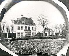 Het oude buiten omstreeks 1879, kort voor de afbraak