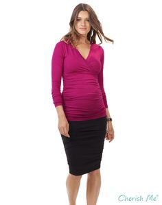 Isabella Oliver Roe Maternity Skirt - Black