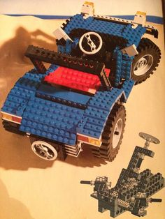 Vintage Lego, Lego Stuff, Lego Technic, Lego Ideas, Om, Vehicle, Monster Trucks, Retro, Board