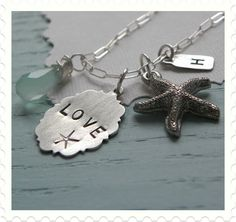 Sea inspired charms