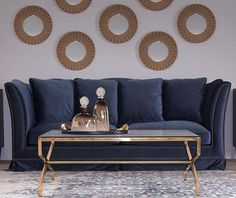 Main Thumb Decor, Furniture, Home, Love Seat, Minimal Design, Sofas, Bed, Pillows, Couch