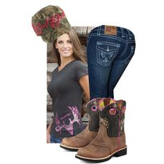 """GWG Buck Wild"" by girlswthguns on Polyvore  www.gwgclothing.com"