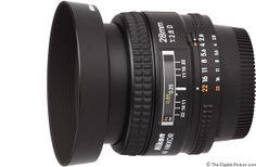 Nikon 28mm f/2.8D AF Lens