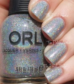 Orly Holiday 2014 Sparkle Collection Swatches ....just bought this color. Love it!!