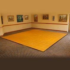 Portable dance floor for my new room!!