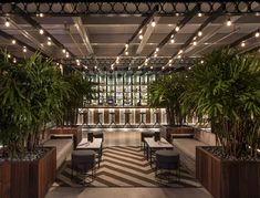 Rooftop @ - Hotel, Restaurant & Nightclub Design by Big Time Design Studios Rooftop Restaurant, Rooftop Bar, Restaurant Design, California Architecture, New York Architecture, Fort Lauderdale, Dubai, Nightclub Design, Bar Design Awards