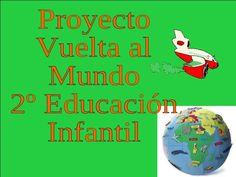 Resultado de imagen de proyecto vuelta al mundo educacion infantil