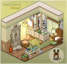 Medieval House Habbo by Mookye on DeviantArt Pixel Art Gif, How To Pixel Art, Pixel Art Games, Habbo Hotel, Reference Manga, Arte Indie, Cartoon House, 8 Bit Art, Pix Art