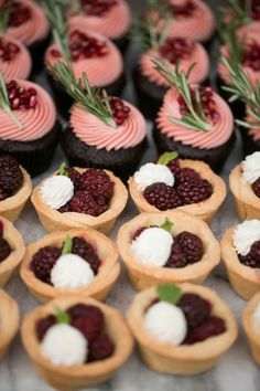 Romantic Berry Inspired Wedding Ideas