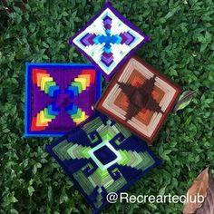 Gods Eye, Science Projects, Gifts For Friends, Fiber Art, Hand Weaving, Origami, Dream Catchers, Flowers, Handmade