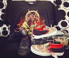 slayer x vans my dope collection