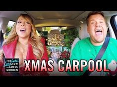 """Watch James Corden, Mariah Carey and the Carpool Karaoke Stars Sing """"All I Want for Christmas Is You"""" - PureWow"""