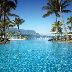 St Regis Princeville, Kauai, Hawaii Heaven on Earth! Kauai Hawaii, Hawaii Resorts, Kauai Hotels, Hawaii Honeymoon, Beach Hotels, Hawaii Travel, Luxury Hotels, Hawaii Usa, Hawaii Life
