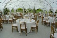 Wedding Marquee that isn't ugly. Dome and arch marquee. http://elitemarquees.com.au/