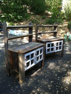 Potting Benches With A Multi Functional Back Shelf And Lockable Cabinets