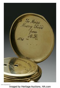 The 1841 Abraham Lincoln Wedding Gift That Mary Todd Never Saw. January 1, 1841 | In the Swan's Shadow
