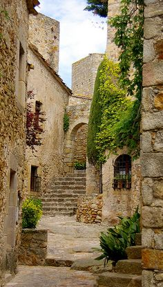The touristic village of Pals ~ is one of the most beautiful in Catalonia, Spain