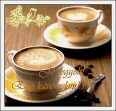 gifs un p tit cafe - Page 4 Coffee Gif, Coffee Images, Coffee Photos, Coffee Pictures, Coffee Latte, Hot Coffee, Coffee Drinks, Coffee Cream, Keep Calm And Drink