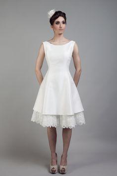 Adventure: The new collection of short wedding dresses by Tobi Hannah   Love My Dress® UK Wedding Blog