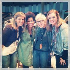"Via @Laryssa Toomer - ""Loved reconnecting with my dear friend @Kim Hash last week and meeting new ones, Allison & Natalie! Part of Table 12"" #leadingandlovingit retreat #churchplanters"