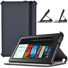 CaseCrown Ace Flip Case (Cool Water) for Amazon Kindle Fire by CaseCrown. $10.19. Protect your Amazon Kindle Fire with this CaseCrown Ace Flip Case at all timesDesign for style and protection This case sports a simple yet classy folio design made from synthetic leather, and the interior is lined with a soft-non-scratch material so you do not need to worry about any damages. Functionality Snap your Kindle Fire in place. The multiple side clasps will help secure the tablet.