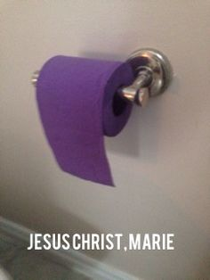 This cracks me up because my sister thinks I really love purple, but Marie on breaking bad is worse lol