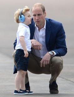 Umpequeno segredo dopríncipe William sobre como conversar com seu filho