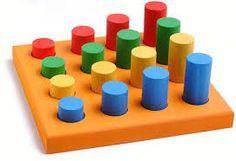 Resultado de imagen para juguetes didacticos para niños Wooden Diy, Handmade Wooden, Pink Trees, Montessori Toys, Kids Wood, Wooden Blocks, Wood Toys, Jouer, Diy Toys