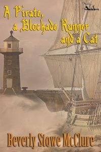 Book Feature: A Pirate, a Blockade Runner, and a Cat by Beverly Stowe McClure - reading this one now.