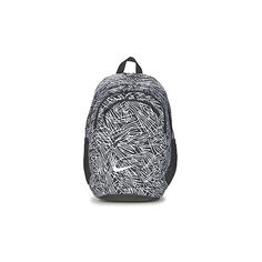 Nike LEGEND PRINT Backpack (€58) ❤ liked on Polyvore featuring bags, backpacks, backpack, pattern bag, rucksack bag, white backpack, pattern backpack en nike