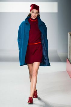 agnes b - fall 2014  oh my. these colors.