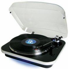 Innovative Technology USB Turntable by Innovative Technology. $48.05. Modern Design USB Turntable ITUT-400 Record vinyl to new MP3's! 3-speed selection (33 1/3, 45, 78 rpm) Connects to pc via USB Blue under glow led lighting Transparent cover included Easy-to-use recording software