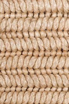 Luzon handwoven abaca rug in Pearl colorway, by Merida.