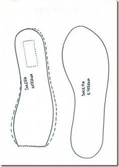 high heel templates