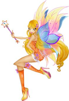 Mythix Winx Club | File:Stella Mythix 2D Fanmade.png